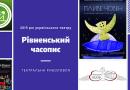 2019 рік українського театру. Рівненський часопис