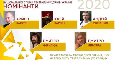 Премія імені Сергія Данченка 2020