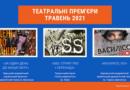 Українські театральні прем'єри (травень 2021)
